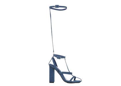 YELLO Indigo Sandals Blueの写真