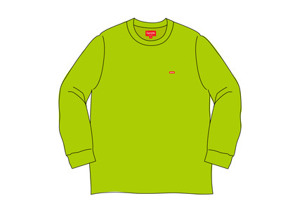 Supreme Small Box L/S Tee (SS20) Dark Limeの写真