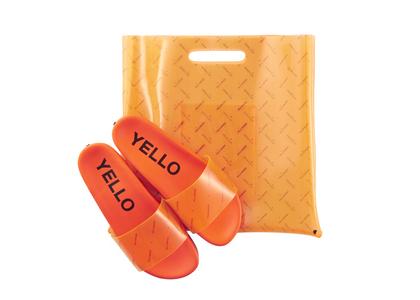 YELLO Too Juicy Sliders Orangeの写真