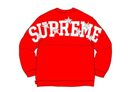 Supreme Stars Crewneck Redの写真