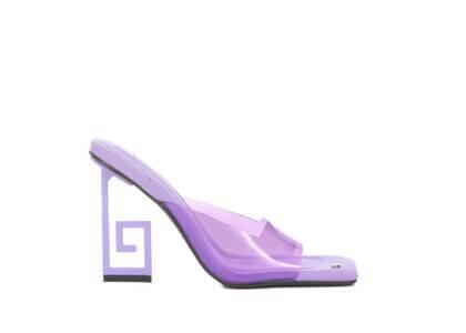 YELLO Hydrangea Sandals Purpleの写真