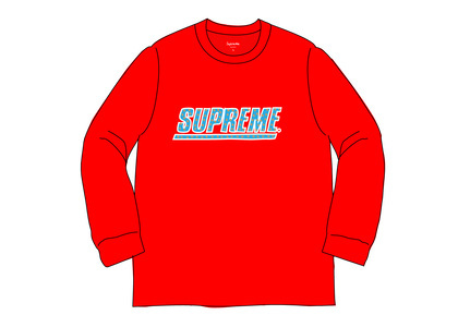 Supreme Studded L-S Top Redの写真