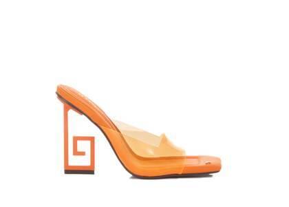 YELLO Too Juicy Sandals Orangeの写真