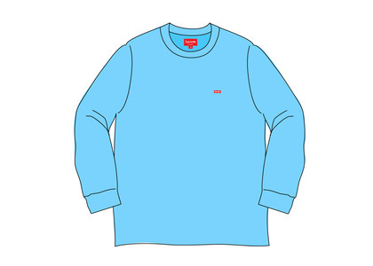 Supreme Small Box L/S Tee (SS20) Light Royalの写真