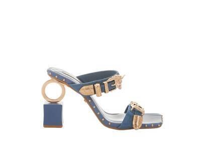 YELLO Nika Ring Sandals Blueの写真