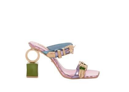 YELLO Cosmic Horse Ring Sandals Metalicの写真