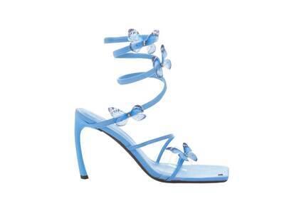 YELLO Blue Butterflies Sandals Light Blueの写真