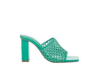 YELLO Palm Sandals Blueの写真