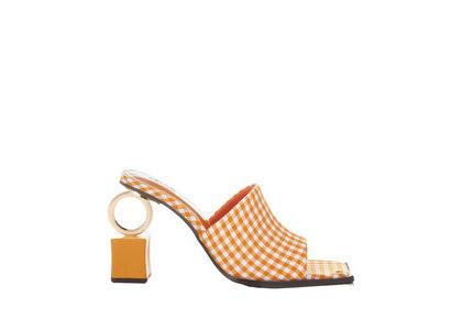 YELLO Carrota Ring Sandals Orangeの写真