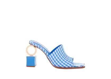 YELLO Blake Ring Sandals Blueの写真
