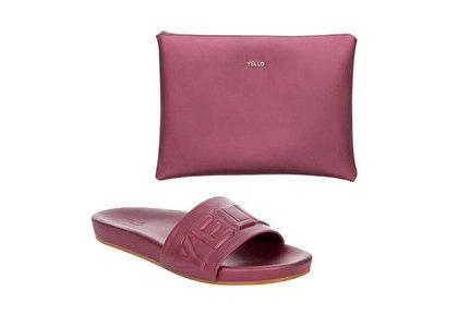 YELLO Berry Cherry Sliders Pinkの写真