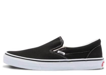 Vans Slip-on Black White  V98CLAの写真