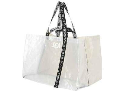 RAMIDUS X WIND AND SEA Tote Bag - XL Ivory / Translucentの写真