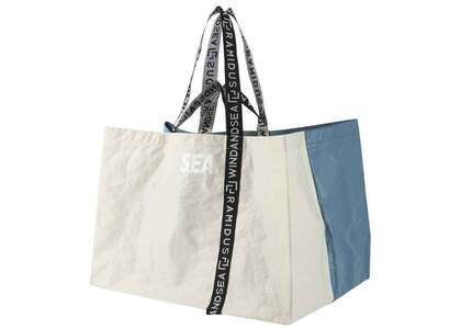 RAMIDUS X WIND AND SEA Tote Bag - XL Cyan Blue / Ivoryの写真