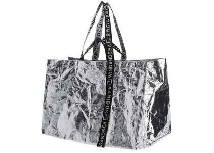 RAMIDUS X WIND AND SEA Tote Bag - XL Silverの写真