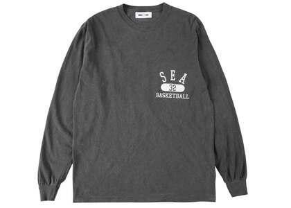 WIND AND SEA L/S T-Shirt Charcoalの写真
