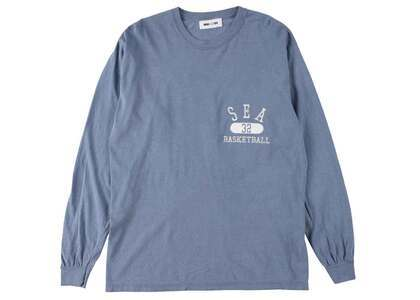 WIND AND SEA L/S T-Shirt Navyの写真