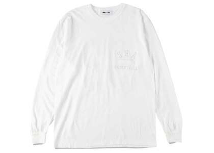 WIND AND SEA L/S T-Shirt White / Grayの写真