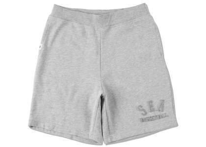WIND AND SEA Warm Up Sweat Shorts Grayの写真