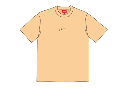 Supreme Signature S-S Top Peachの写真