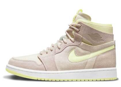 Nike Jordan 1 High Zoom Air CMFT Beige Womensの写真