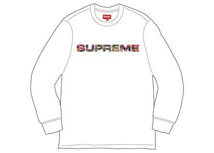 Supreme Meta Logo L-S Top Whiteの写真
