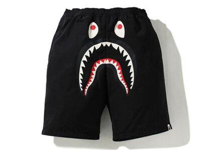 Bape Shark Beach Shorts Black (SS21)の写真