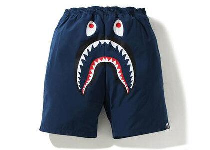 Bape Shark Beach Shorts Navy (SS21)の写真
