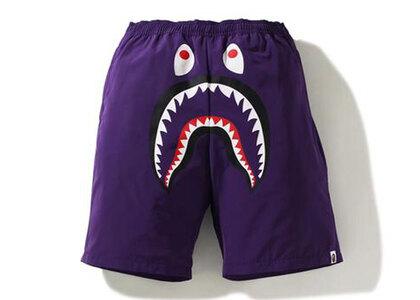 Bape Shark Beach Shorts Purple (SS21)の写真