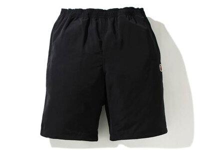Bape One Point Beach Shorts Black (SS21)の写真