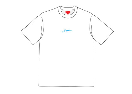 Supreme Signature S-S Top Whiteの写真