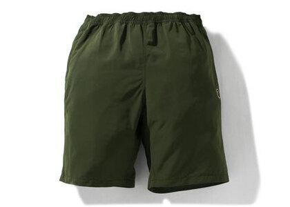 Bape One Point Beach Shorts Olive Drab (SS21)の写真