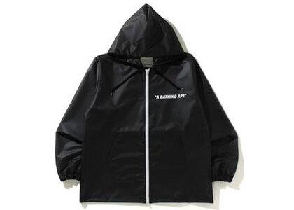 Bape Transparent Hoodie Jacket Black (SS21)の写真