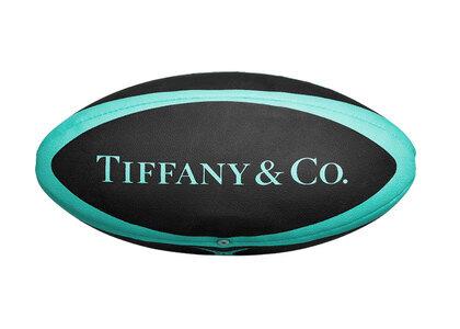Tiffany&Co. Cat Street Rugby ball Tiffany Blue & Black Rubberの写真