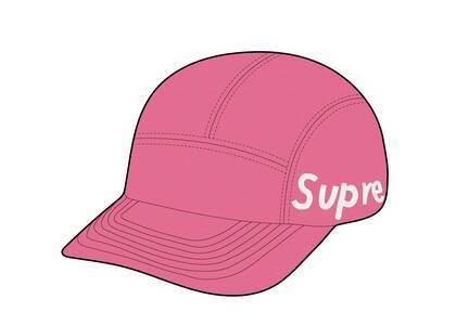 Supreme Jacquard Pique Camp Cap Pink (SS21)の写真
