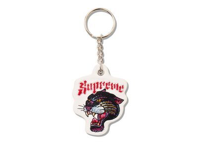 Supreme Panther Keychain White (SS21)の写真