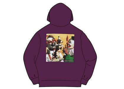 Supreme Butthole Surfers Hooded Sweatshirt Purple (SS21)の写真
