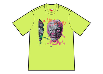 Supreme Butthole Surfers Psychic Tee Yellow (SS21)の写真
