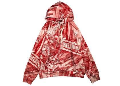 Supreme Bling Hooded Sweatshirt Redの写真