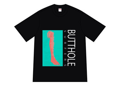 Supreme Butthole Surfers Leg Tee Black (SS21)の写真