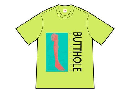 Supreme Butthole Surfers Leg Tee Yellow (SS21)の写真