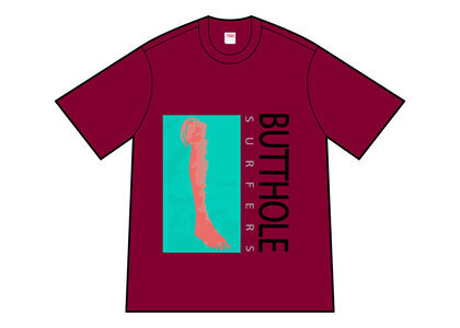 Supreme Butthole Surfers Leg Tee Red (SS21)の写真