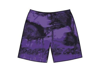 Supreme Hurricane Water Short Purple (SS21)の写真