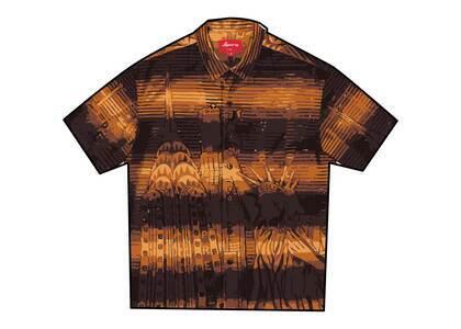 Supreme Liberty Lace S/S Shirt Orange (SS21)の写真