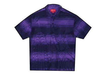 Supreme Liberty Lace S/S Shirt Purple (SS21)の写真