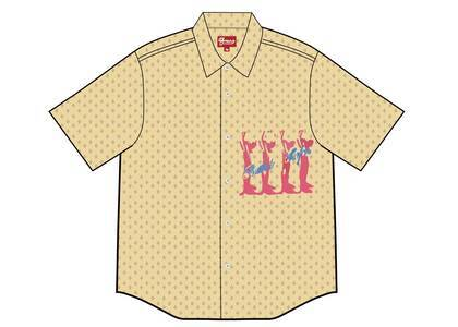 Supreme Butthole Surfers S/S Shirt Orange (SS21)の写真
