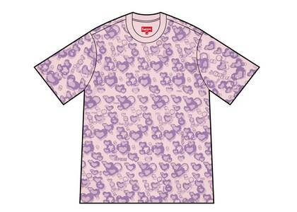 Supreme Jacquard Bubble Hearts Top Purple (SS21) の写真