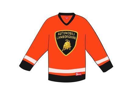 Supreme Automobili Lamborghini Hockey Jersey Orangeの写真