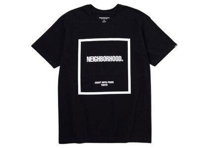 Neighborhood CI-1 / C-Tee SS Black × Whiteの写真