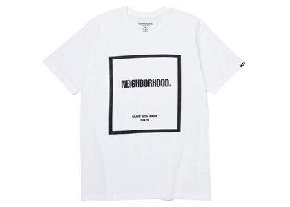 Neighborhood CI-1 / C-Tee SS White × Blackの写真
